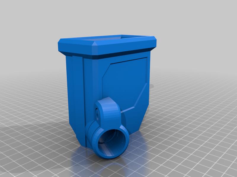 DMAG_MAGWELL_PUMP_M3.png Télécharger fichier STL gratuit DMAG Helix Adapter Maverick, Trracer pump paintball • Objet imprimable en 3D, UntangleART