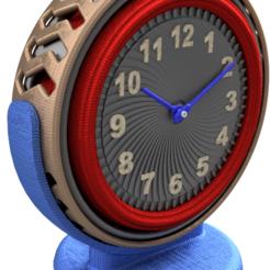 Spinning Clock - Pic 1.PNG Télécharger fichier STL Design de l'horloge à filer • Plan à imprimer en 3D, 3dprinting_cafe