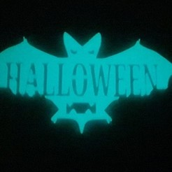 Download free 3D print files Halloween Bat, jcandanedo1989