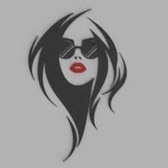 woman 2.jpg Télécharger fichier STL Décoration murale (femme) • Modèle pour impression 3D, MaJoReRo