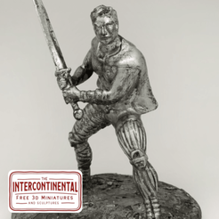 made 1.png Download OBJ file Young Swordsman • 3D print model, TheIntercontinental