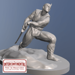 Download free 3D printer designs Nordic Warrior, TheIntercontinental