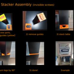 Descargar diseños 3D gratis Lack Stacker (tornillos invisibles), medmakes