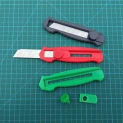 Télécharger fichier STL gratuit Box Cutter Version 2 (Stanley Cutter) • Modèle pour impression 3D, medmakes