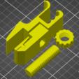 Imprimir en 3D gratis Soporte para el teléfono de la cabeza (altura del vario), medmakes
