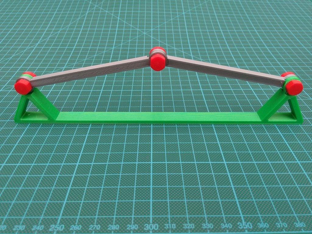 27c357341a9574d415f5a6fcd5fa0ea0_display_large.jpg Download free STL file Bi-stable von Mises thruss • 3D print model, medmakes