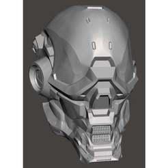 Descargar archivos STL Casco Halo Locus Casco Halo arma Halo cosplay, jacemclachlan