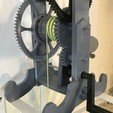 IMG_2221.jpg Download free STL file 3D Printed Galileo Escapement Clock with Hands • 3D printing object, JacquesFavre