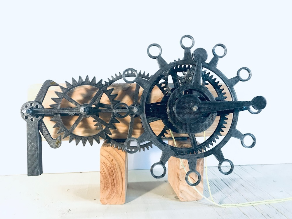 remake.jpg Download free STL file The First Clock • 3D print design, JacquesFavre