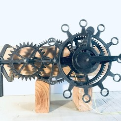 Download free 3D printer designs The First Clock, jacqueshfavre