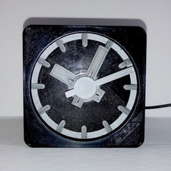 afront.jpg Download free STL file Second Arduino Clock • 3D printing model, JacquesFavre