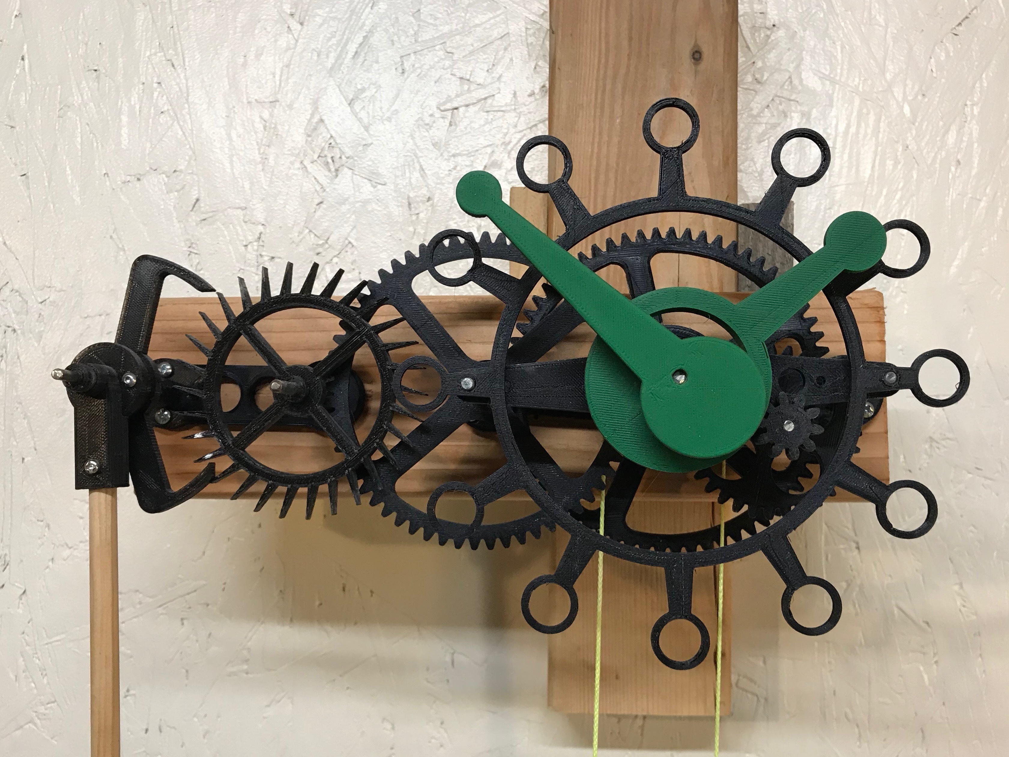 firstTry.jpg Download free STL file The First Clock • 3D print design, JacquesFavre