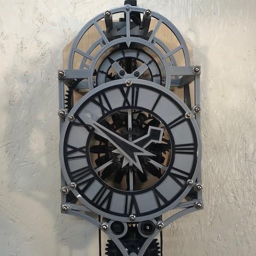 Descargar modelos 3D gratis Reloj impreso en 3D de Christian Huygens, jacqueshfavre