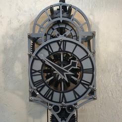 frontFull.jpg Télécharger fichier 3MF gratuit Horloge Christian Huygens imprimée en 3D • Modèle pour imprimante 3D, JacquesFavre