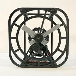 afront.jpg Download free STL file The Full Clock • 3D printable design, JacquesFavre