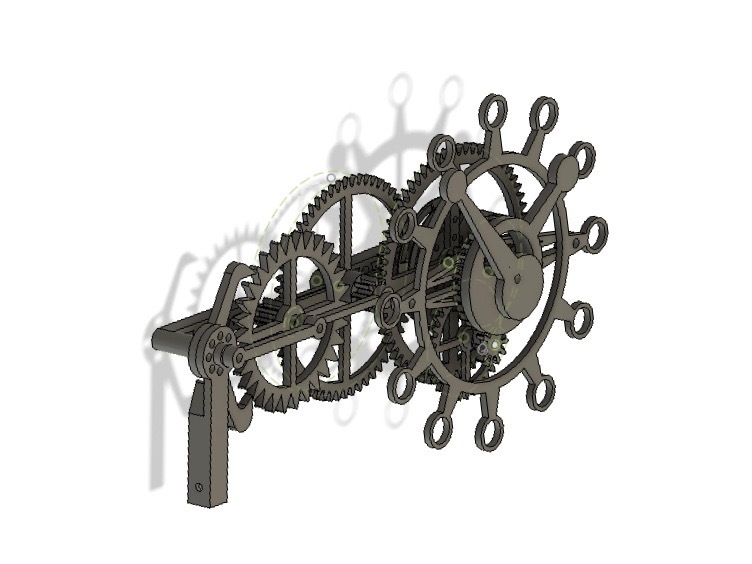 fusionLeft.jpg Download free STL file The First Clock • 3D print design, JacquesFavre