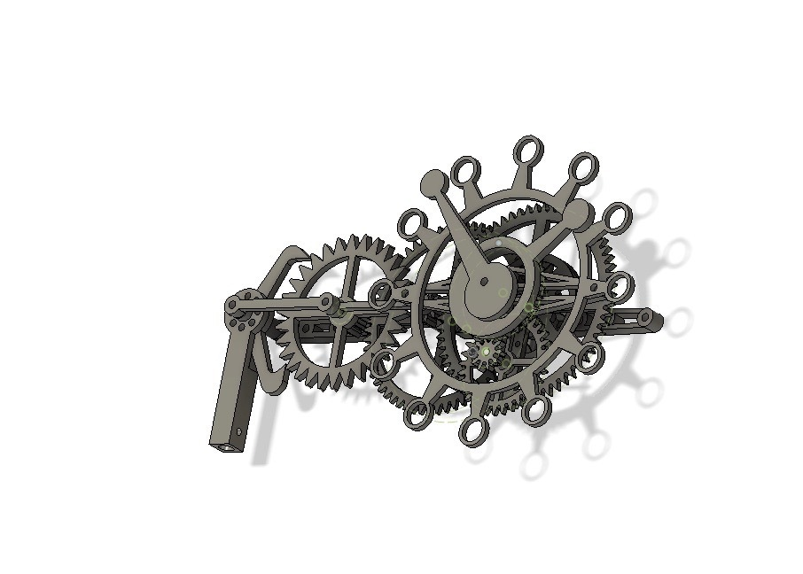 fusionRight.jpg Download free STL file The First Clock • 3D print design, JacquesFavre