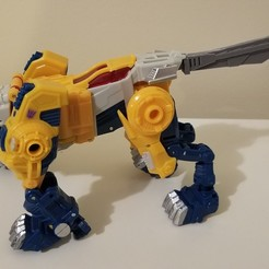Download free 3D printer templates Titans Return Weirdwolf TailSword, Firetox