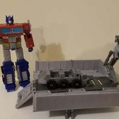 Imprimir en 3D gratis Transformers Earthrise - Optimus Prime Upgrade Set, Firetox