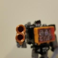 Imprimir en 3D gratis Transformers Siege Double Shot, Firetox