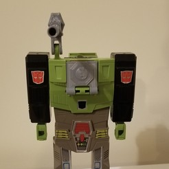 Download free 3D printing models Canon and Hatch for G1 Hardhead, Firetox