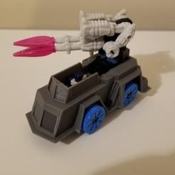 Descargar archivos 3D gratis Los Titanes de los Transformadores regresan al camión de los Overlord, Firetox