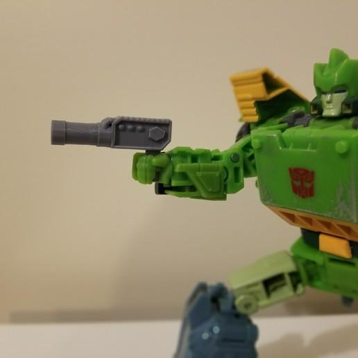 Download gratis STL-bestanden Transformers Siege Hand Cannon, Firetox