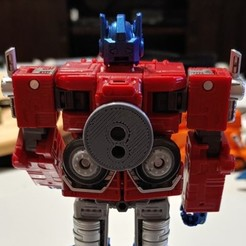 Download free 3D printer templates Transformers Earthrise - Optimus Prime Trailer Hitch, Firetox