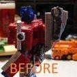 Descargar archivo 3D gratis Transformers Earthrise - Enganche para remolque Optimus Prime, Firetox