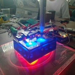 Télécharger fichier imprimante 3D gratuit Plotclock (Plan de mise à niveau), Freimor