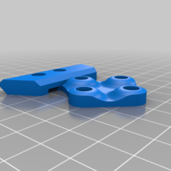 Left_shoulder.png Download free STL file Cooling system for e3d v6 • 3D printer template, Freimor