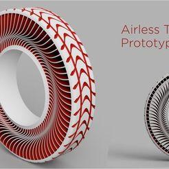 Impresiones 3D gratis Neumático Airless Prototipo 2, Freimor