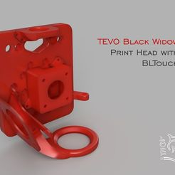 Untitled-1.jpg Download free STL file Tevo Black Widow Print Head for Titan Extruder with BLTouch • 3D printing design, Freimor