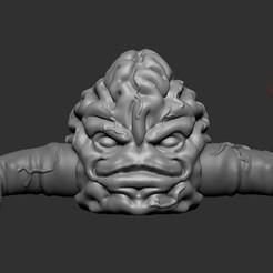 Descargar Modelos 3D para imprimir gratis Tortugas Ninja Krang, guesstal0ng