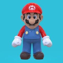 1.jpg Download 3MF file Super Mario Default Uniform • 3D printing template, RandomDesign
