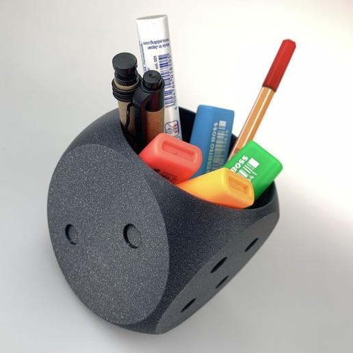 Télécharger fichier STL Organisateur de bureau - dés • Modèle pour imprimante 3D, jardol
