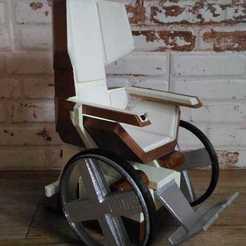 IMG-20200929-WA0018.jpg Télécharger fichier STL Le fauteuil roulant de Charles Xavier • Objet à imprimer en 3D, Semper