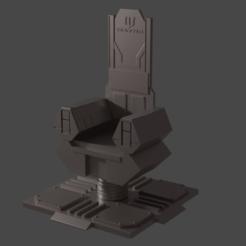batman-throne.png Télécharger fichier STL Le trône de Batman • Objet pour imprimante 3D, Semper