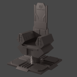 Download STL file Batman's Throne • 3D print design, Semper
