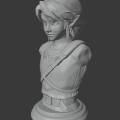 Descargar archivo 3D Link bust (The Legend of Zelda: Twilight Princess), Semper