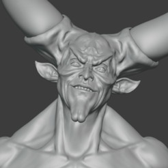 Download 3D printing designs Lord of Darkness bust (Legend), Semper