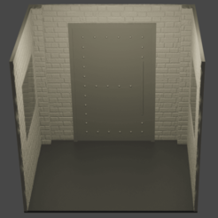 diorama01.png Télécharger fichier STL Diorama du chevalier noir Batman • Design pour impression 3D, Semper