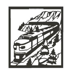 TrainToT.png Download STL file Train view • 3D print design, miguelonmex