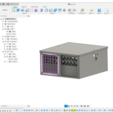 1.png Descargar archivo STL Aire Acondicionado (lavado) • Diseño para impresión en 3D, miguelonmex