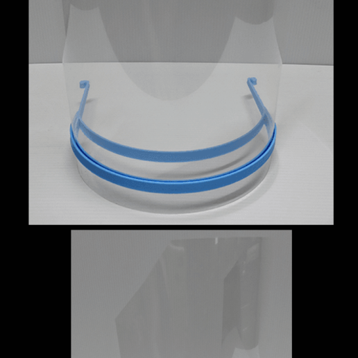 CaretasMCv2.png Descargar archivo STL gratis COVID-19 Face Shield impresión rápida • Diseño para la impresora 3D, miguelonmex