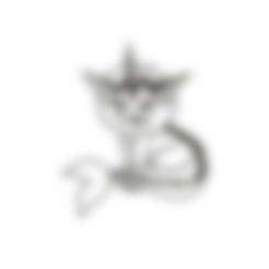 wallVaporeon.stl Descargar archivo STL Vaporeon Pokemon for Wall • Plan imprimible en 3D, miguelonmex