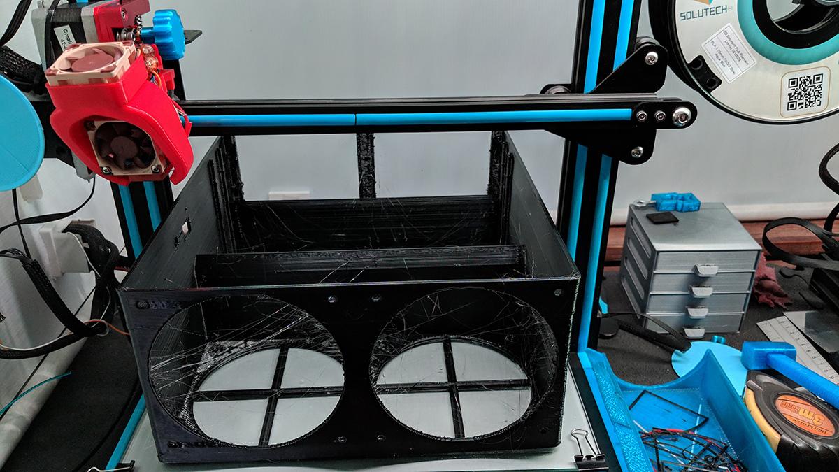 5.jpg Descargar archivo STL Aire Acondicionado (lavado) • Diseño para impresión en 3D, miguelonmex