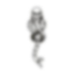 DarkMarkHarryPv2.stl Descargar archivo STL gratis Dark Mark Harry Potter • Modelo para la impresora 3D, miguelonmex