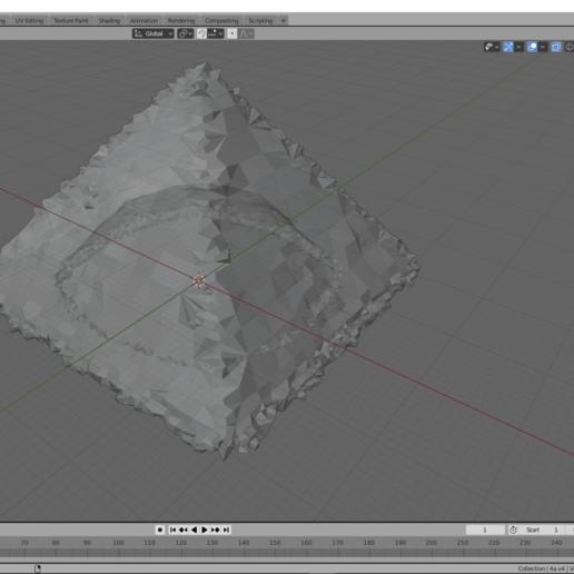 m_5c.png Descargar archivo OBJ Petrified Pyramid • Modelo imprimible en 3D, miguelonmex