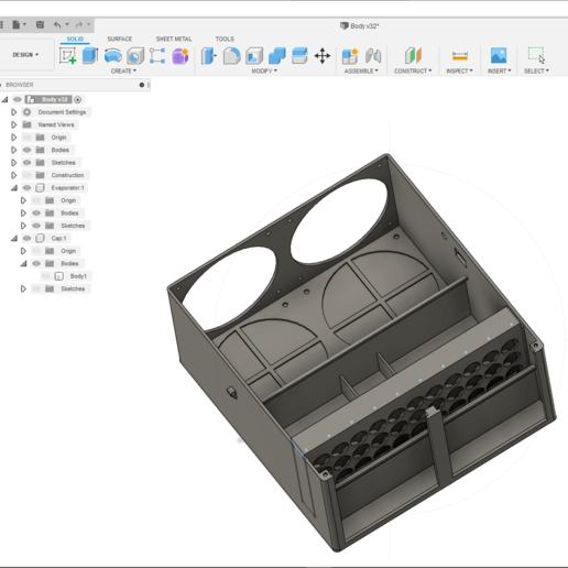 2.png Descargar archivo STL Aire Acondicionado (lavado) • Diseño para impresión en 3D, miguelonmex